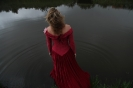 Sometimes I just need to go to the lake - an ongoing photo series by Preben Stentoft.  Dress: Lene Oxvig